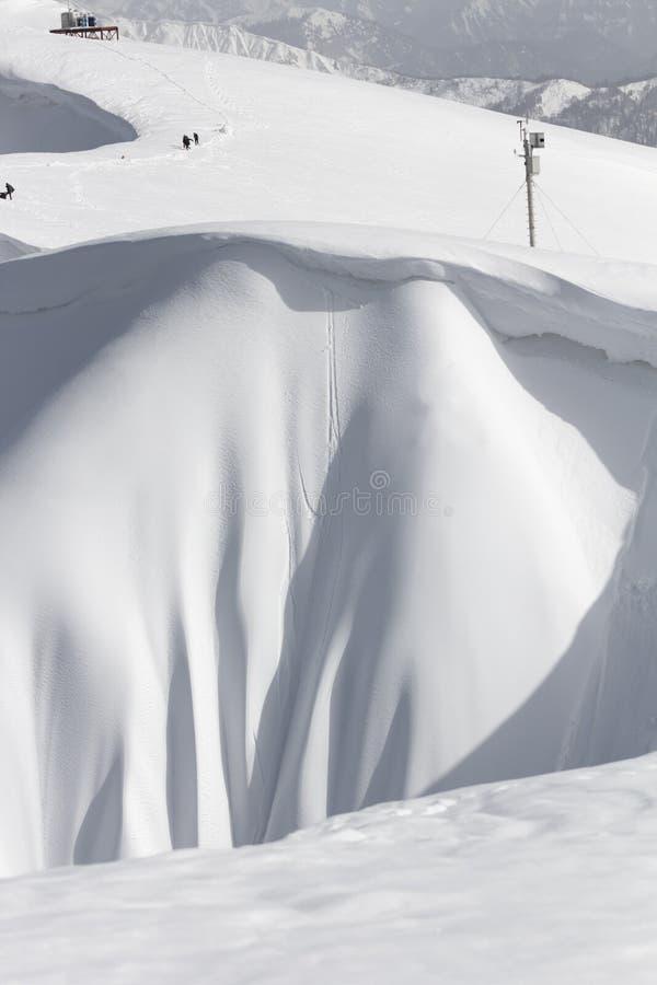 De bergen in Krasnaya Polyana, Sotchi, Rusland royalty-vrije stock afbeeldingen