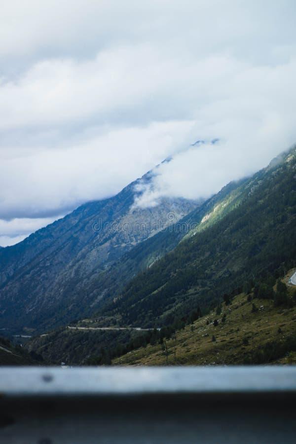 De bergen van Andorra royalty-vrije stock foto