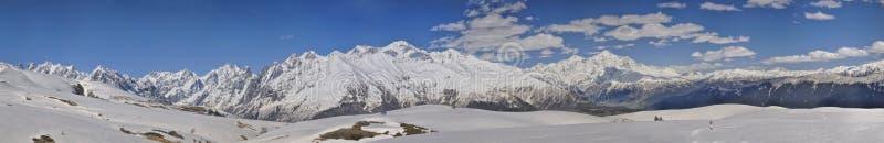 De Bergen van de Kaukasus, Svaneti royalty-vrije stock foto