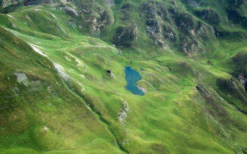 De bergen van de Pyreneeën royalty-vrije stock afbeelding