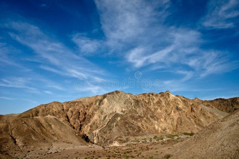 De bergen van het conglomeraat royalty-vrije stock afbeelding