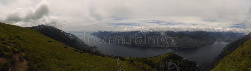 De Bergen van het panorama royalty-vrije stock foto