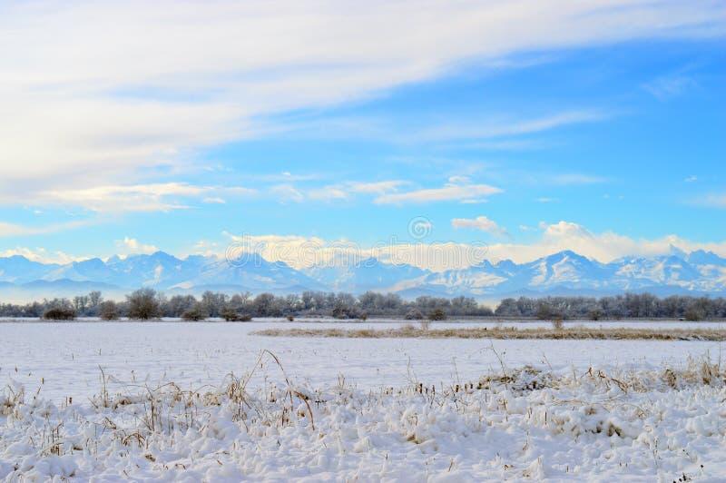 De Bergen van de Kaukasus, Kabardino-Balkarië, Rusland stock foto's
