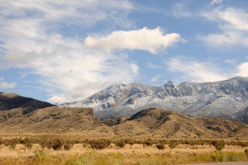 De bergen van New Mexico stock foto