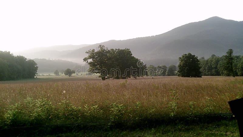 De Bergen van Smokey royalty-vrije stock afbeeldingen