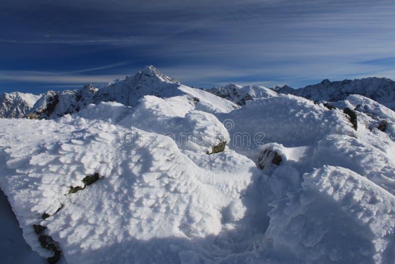 De bergen van Tatra stock foto's