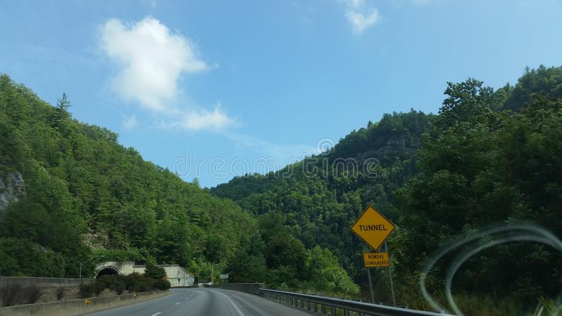 De bergen van Tennessee stock afbeeldingen