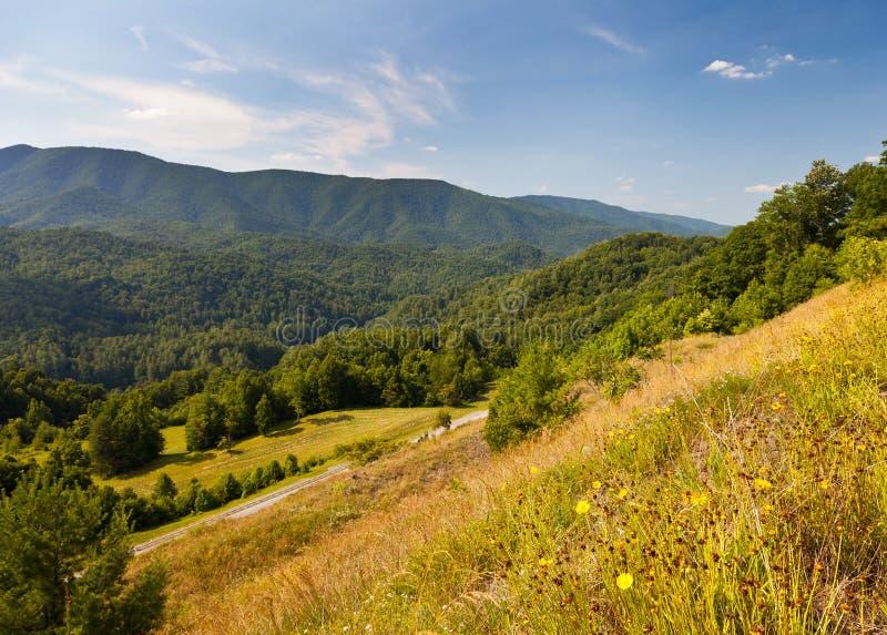 De Bergen van Unaka stock foto
