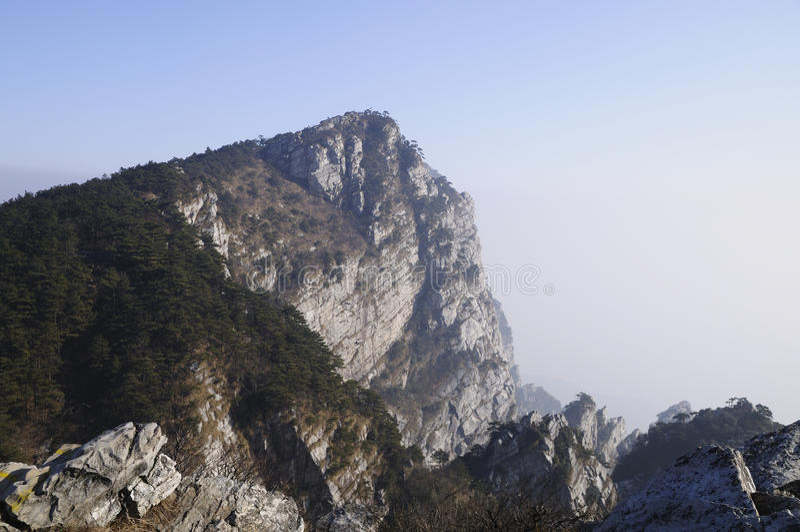 De bergketen van China Lushan royalty-vrije stock foto