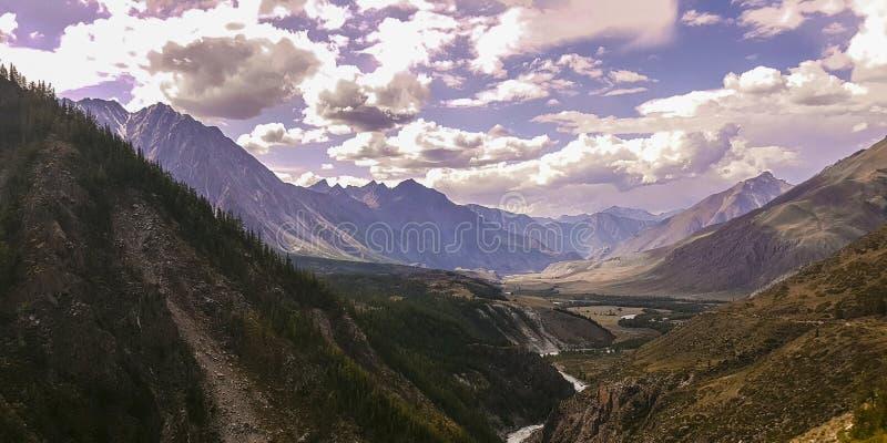 De bergmeer van bergaltai royalty-vrije stock foto's