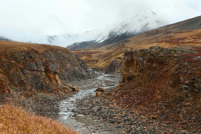 De bergrivier royalty-vrije stock foto's