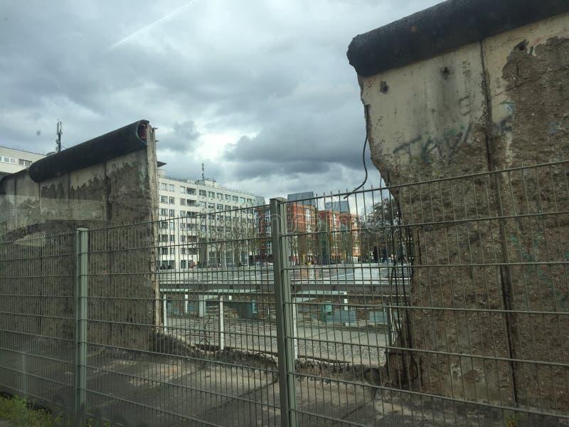 De BerlÃn-muur stock foto's