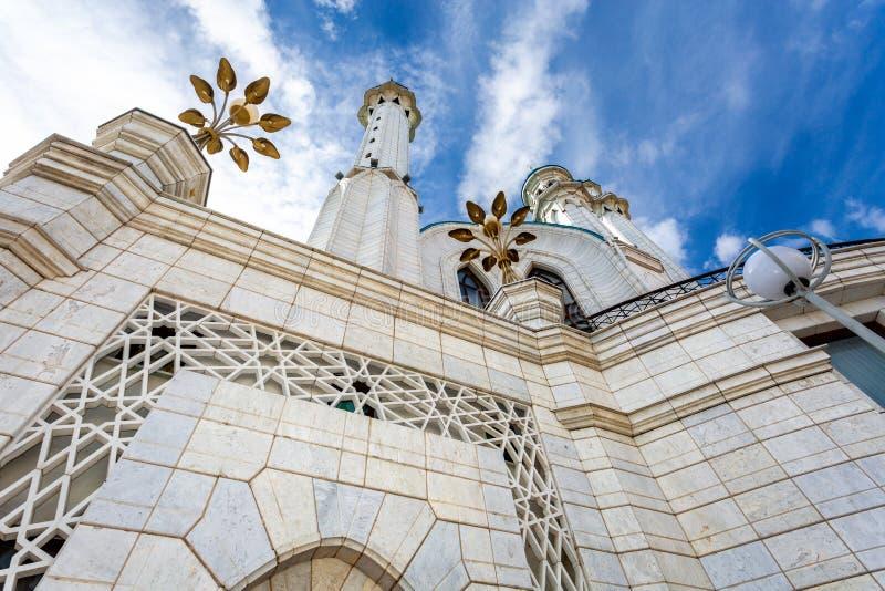 De beroemde moskee van Kul Sharif in Kazan het Kremlin royalty-vrije stock afbeeldingen