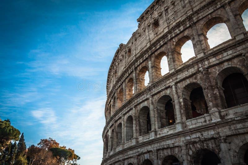 De beroemde plaats Colosseum royalty-vrije stock fotografie
