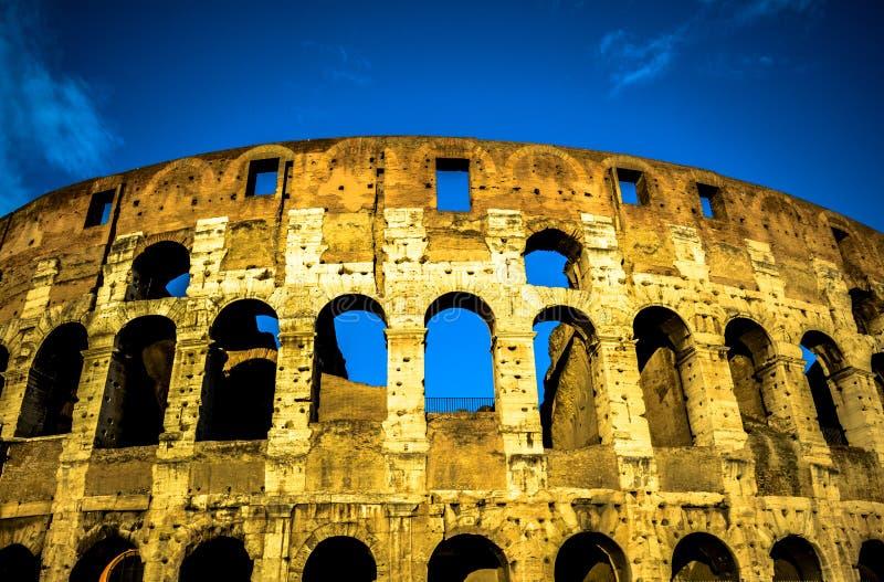 De beroemde plaats Colosseum royalty-vrije stock afbeelding