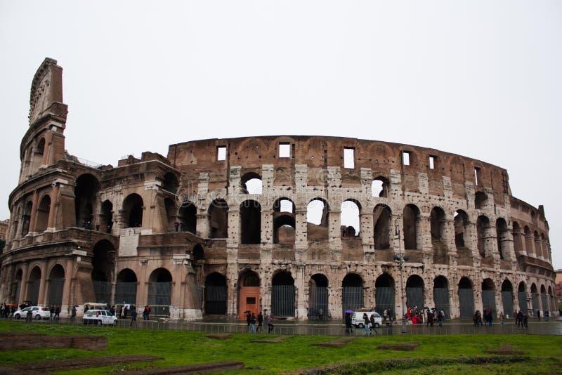 De beroemde plaats Colosseum royalty-vrije stock foto