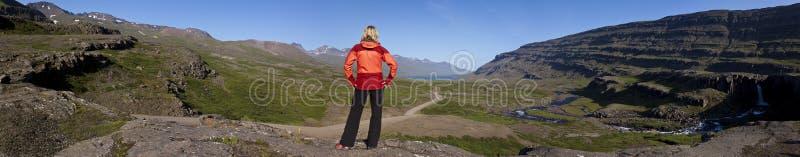 De Berufjordur Vallei, IJsland royalty-vrije stock fotografie