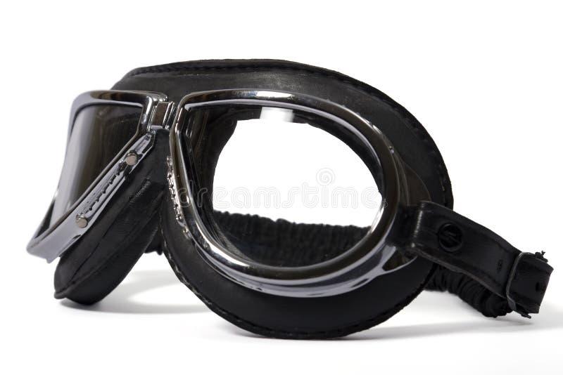 De beschermende brillen van de loods royalty-vrije stock foto's