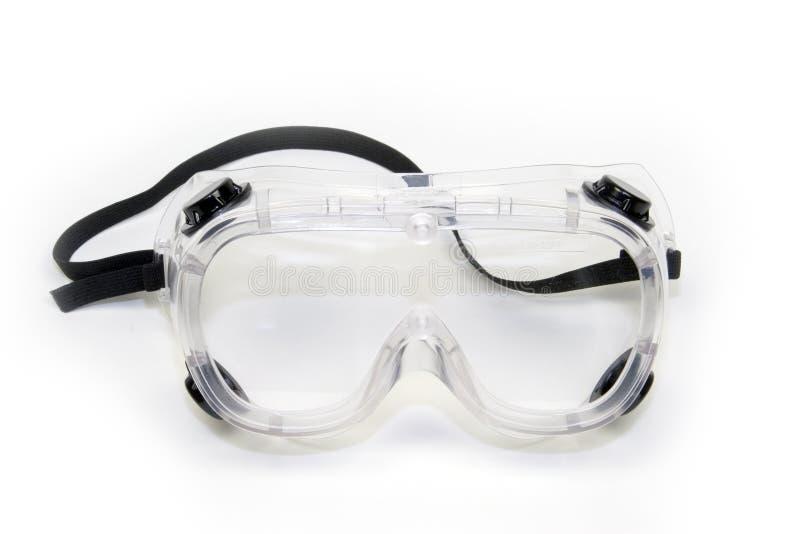 De Beschermende brillen van de veiligheid stock afbeeldingen