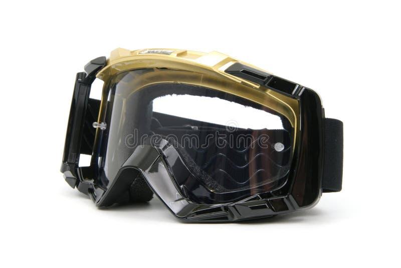 De Beschermende brillen van Moto #4 stock fotografie