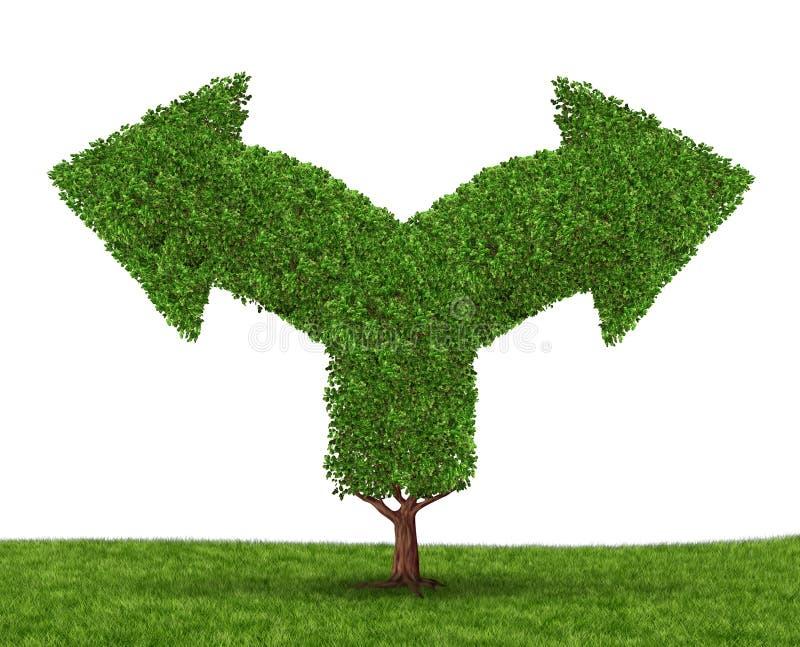De Besluiten van de groei vector illustratie