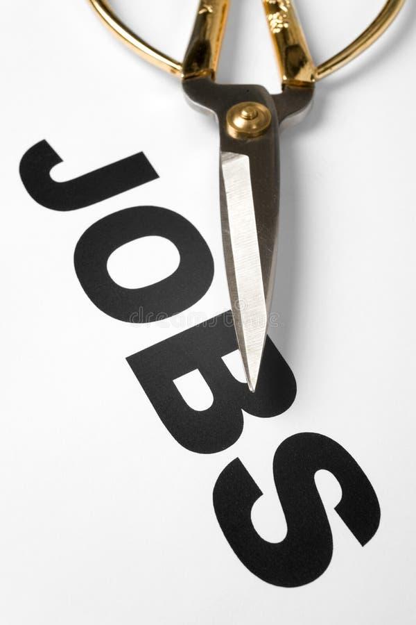 De Besnoeiing van banen royalty-vrije stock afbeeldingen