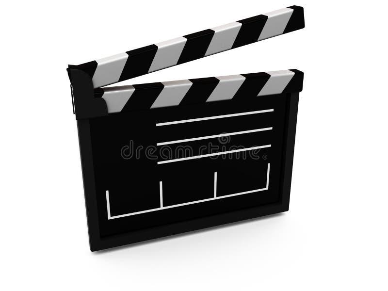 De besnoeiing van de film stock illustratie