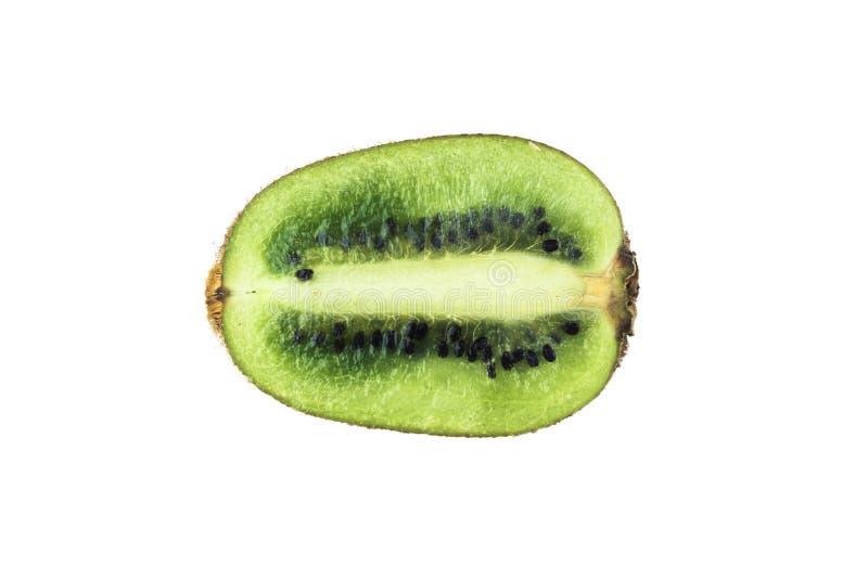 De besnoeiing van het kiwifruit royalty-vrije stock afbeeldingen
