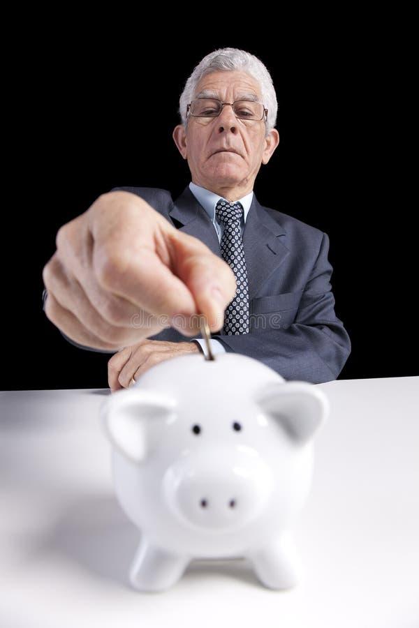 De besparingen van de pensionering royalty-vrije stock afbeeldingen