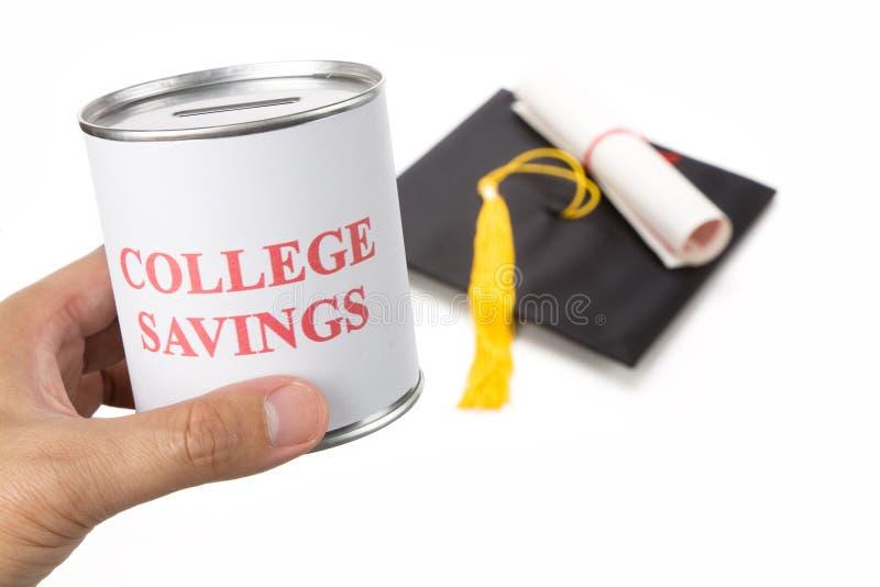 De besparingen van de universiteit royalty-vrije stock foto