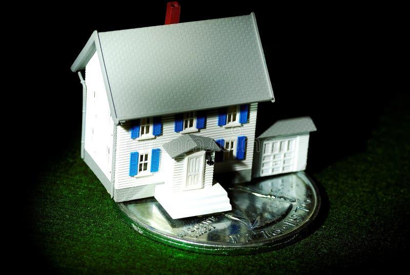De Besparingen van het huis stock afbeeldingen