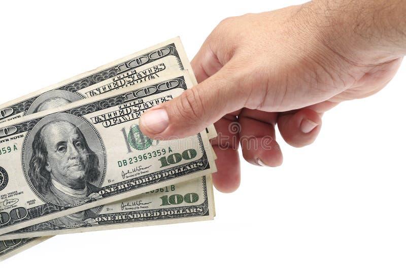 De bespreking van het geld royalty-vrije stock fotografie