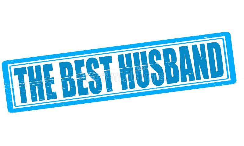 De beste echtgenoot stock illustratie