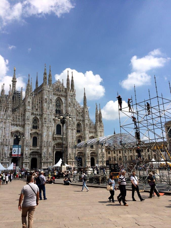 De beste Stad 🠇 ®ðŸ ‡ ¹ Milaan royalty-vrije stock afbeeldingen