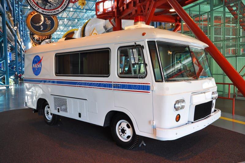De Bestelwagen van de Astronaut van de Opdrachten van Apollo royalty-vrije stock afbeeldingen