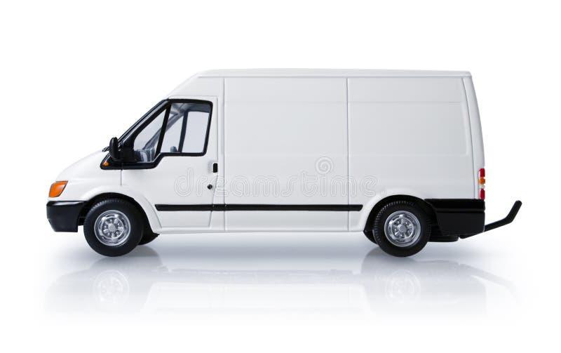 De bestelwagen van de doorgang royalty-vrije stock afbeelding
