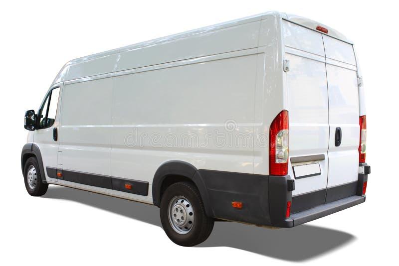 De bestelwagen van de levering royalty-vrije stock foto's