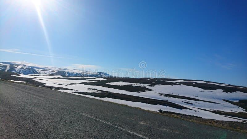 De bestemming van de sneeuw landscape stock foto