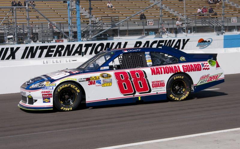 De Bestuurder van de Kop van de Sprint van Jr. NASCAR van Dale Earnhardt royalty-vrije stock afbeelding