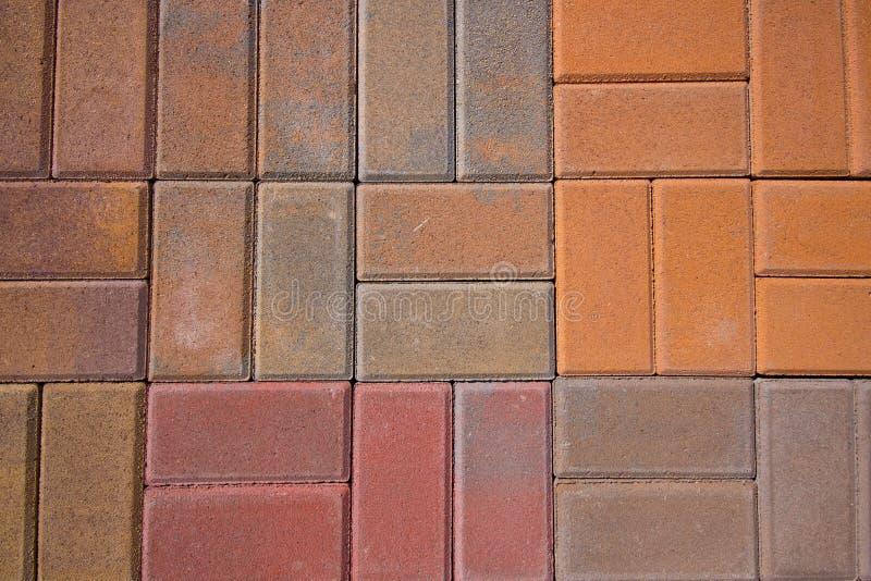 De Betonmolens van de baksteen royalty-vrije stock afbeelding