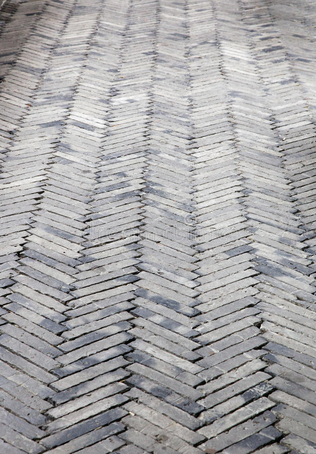 De betonmolens van de visgraat royalty-vrije stock afbeelding