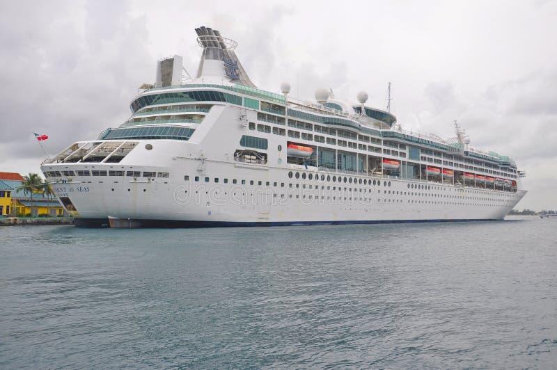 De betovering van het Overzees kruist schip in Nassau royalty-vrije stock foto