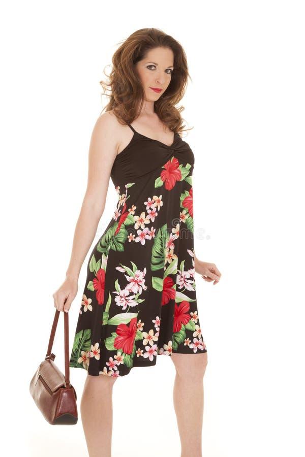 Download De Beurs Van De De Bloemkleding Van De Vrouw Neer Stock Afbeelding - Afbeelding bestaande uit cijfer, kaukasisch: 29510505