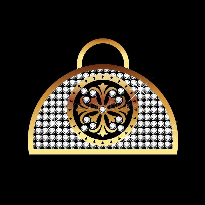 De beurs van de luxe royalty-vrije illustratie