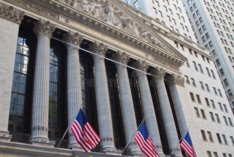 De Beurs van New York stock foto's