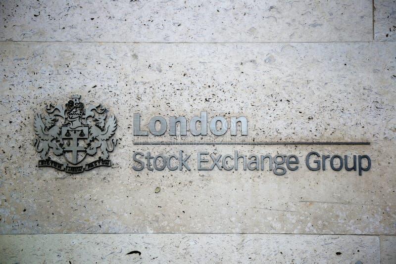 De Beursgroep van Londen royalty-vrije stock foto