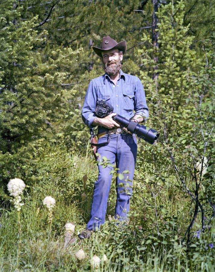 De bewapende Fotograaf van het Wild royalty-vrije stock foto's