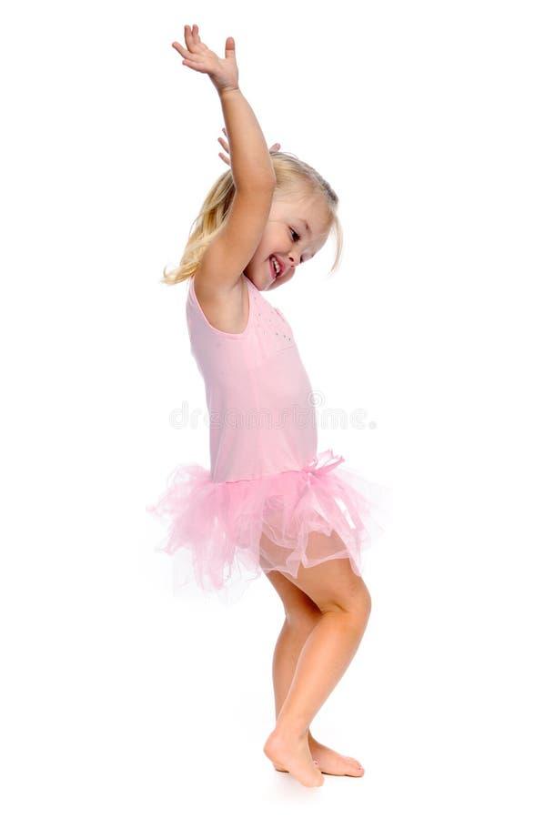 De bewegingen van het ballet stock foto
