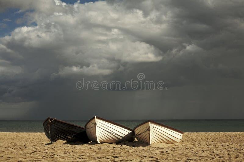 De bewolkte zomer stock foto