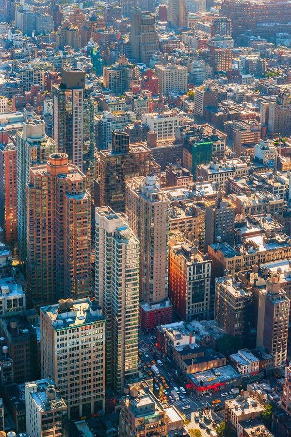 De bezige stad van New York royalty-vrije stock foto's